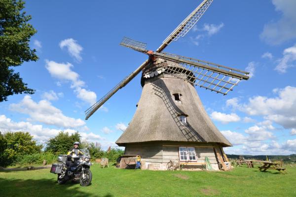 MOTORRADSTRASSEN - Ostsee- Grebiner Mühle © Frank Sachau