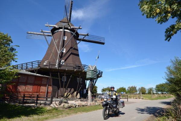 MOTORRADSTRASSEN - Motorradtouren Ostsee - Mühlenmuseum Lemkenhafen © Frank Sachau