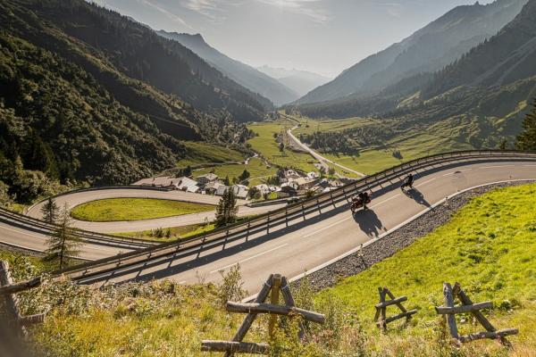MOTORRADSTRASSEN Magazin-Ausgabe 2/2021 - Tourenkarte Rund um den Arlberg © motorradstrassen