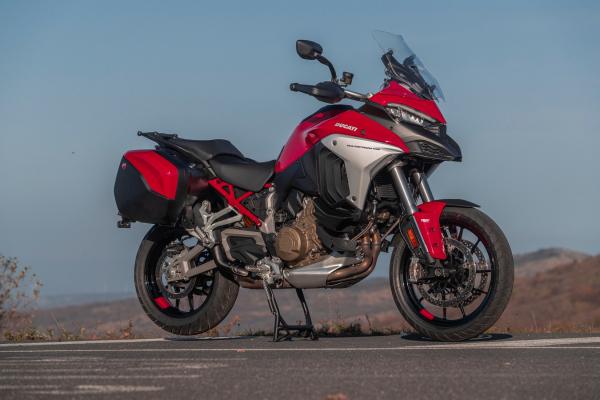 Reiseenduros im Modelljahr 2021- Ducati Multistrada V4 S © Ulf Böhringer.Mehr dazu unter www.motorradstrassen.de