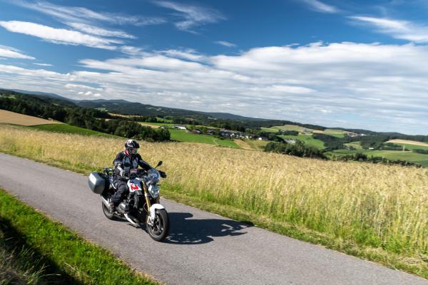 Motorradfahren im Mühlviertel ©Peter Wahl