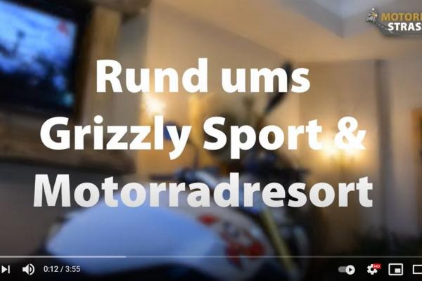 Das Video zum Motorradspaß rund um das Grizzly Sport & Motorradresort