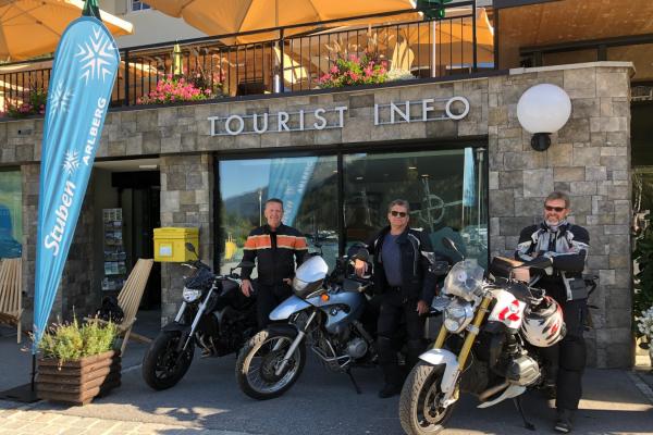 Motorrad fahren - Stuben am Arlberg © motorradstrassen