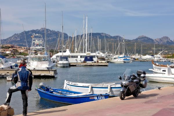 Motorrad fahren - Sardinien - Porto Rotondo © Heinz E. Studt