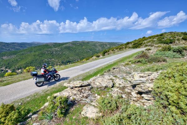 Motorrad fahren - Sardinien - Bergland von Gennargentu ©Heinz E. Studt