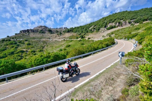 Motorrad fahren - Sardinien - Ussassai_Bergland © Heinz E. Studt