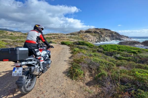 Motorrad fahren - Sardiniens Westküste © Heinz E. Studt