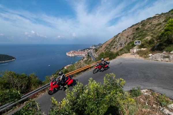 Motorrad fahren - Kroatien -  Dubrovnik © Peter Wahl