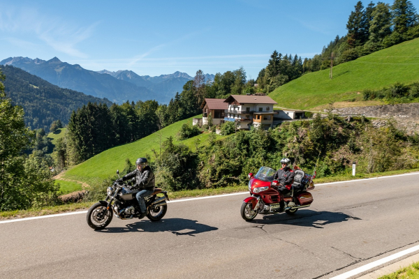Motorradspaß rund um Stuben am Arlberg ©motorradstrassen