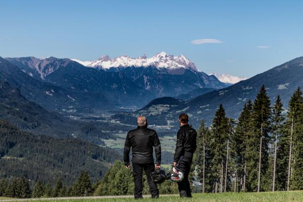 Unterwegs mit Bikerwirt Michael vom Panoramahotel Hauserhof - MOTORRADSTRASSEN-Partnerhaus in Hermagor - Kärnten