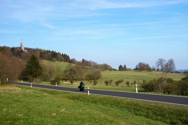 Motorradtour Rhön ©motorradstrassen