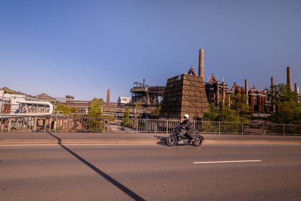 Mit der HD LiveWire unterwegs im Saarland © Peter Wahl