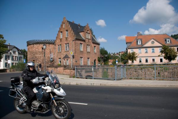 Motorrad fahren im Vogelsberg © motorradstrassen
