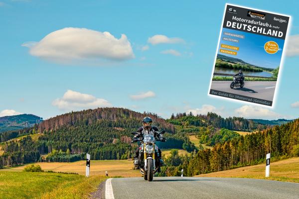 Motorradurlaub und mehr- 8 Regionen 24 Touren© MOTORRADSTRASSEN- Ausgabe 3/2021