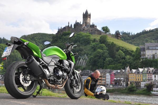 Motorradtour von Rüdesheim nach Cochem/Mosel © Sabine Welte