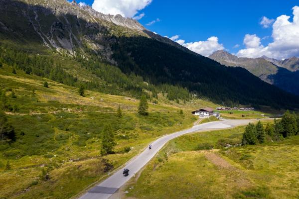 Motorradtouren Osttirol-Staller Sattel ©Peter Wahl