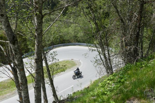 Motorradtouren rund um das High Bike Motorcycle Testcenter © motorradstrassen