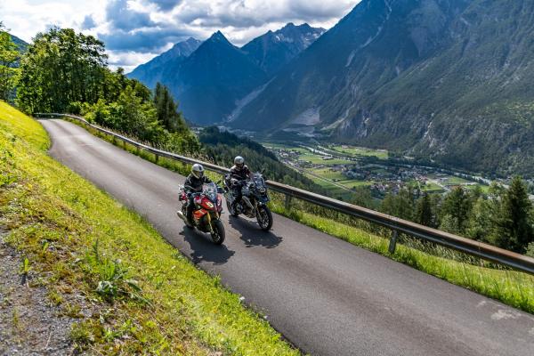Motorradtour - Piller Höhe © Peter Wahl