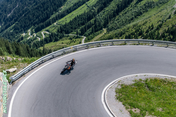 Motorradtour - Silvretta Hochalpenstraße © Peter Wahl
