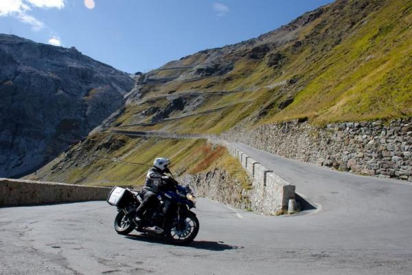 Motorradtour - Stilfser Joch © Peter Wahl