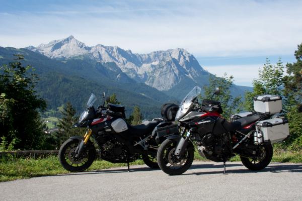 Motorradtour - Zuggspitze © Peter Wahl